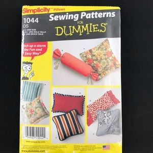Simplicity Pillows Sewing Patterns For Dummies